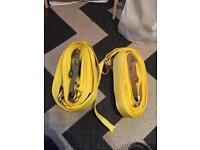 2 x five tonne ratchet straps