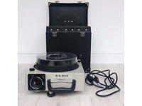 ELMO OMNIGRAPHIC 253E with case & spare bulb
