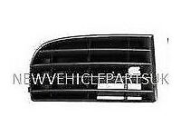 VW GOLF MK5 2004-2008 FRONT BUMPER FOG GRILLE COVER LEFT 4 BARS NO FOG HOLE RIGHT NEW FREE DELIVERY
