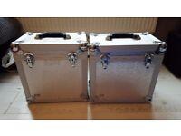 Bush acoustic dj record storage boxes