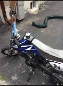 Dirt bike for sale $450 . 110cc great condition.