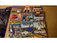 Clarkson and Top Gear dvds.