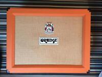 Orange 2 12 open back speaker cabinet