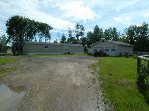 Great Acreage Fenced for Horses