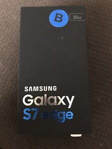 Samsung Galaxy S7 Edge/ With Bell / 32 GB