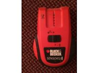 Black & Decker Stud Metal and live wire detector