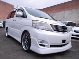 2006 TOYOTA ALPHARD MS Limited 3.0 White 8 Seater MPV Estima Elgrand 2 Sunroof