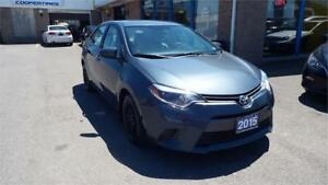 2015 Toyota Corolla LE/BACKUP CAMERA/IMMACULATE $11999