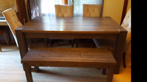 Table & Bench