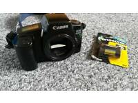 Canon eos 1000f camera (body only) + spare battery (no charger)