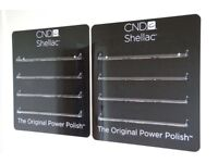 CND Shellac Wall Rack - two available