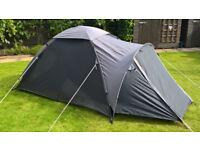 2 berth dome tent - minimal use - looks like new