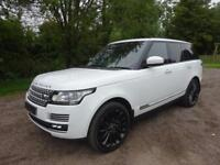 Land Rover Range Rover 4.4SDV8 Autobiography 2013 / Fuji White / Red Leather
