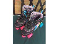 Children's roller boot skates