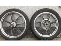 Kawasaki Lester alloy wheels