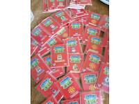 300 match attax football cards