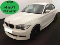 £196.56 PER MONTH BMW 120I 2.0 M Sport Coupe 2 Door Petrol Manual