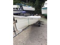 For Sale 18FT Boat and 15hp Engine complete outfit.