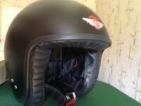 Davida motorcycle helmet