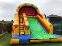 Inflatable slide & bouncy castle & disco dome hire