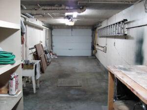 Garage chauffé (370 pieds carrés) à Tétreaultville