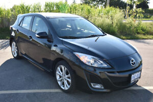 2010 Mazda3 Sport GT| LEATHER| 77KM| NEW TIRES | SAFETY&E-TESTED
