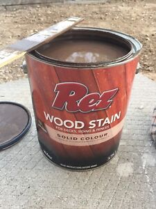 Rez solid stain