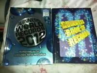 2 books; Guinness world records