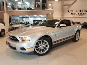 2010 Ford Mustang V6-LEATHER-5 SPEED MANUAL