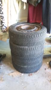 Firestone winterforce tires 195/65r/15
