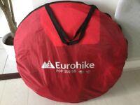 Eurohike pop200 SD pop up 2 berth tent