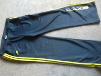 ADIDAS TROUSERS SIZE 16