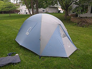 Sierra Designs camping tent. Bedouin 4 person
