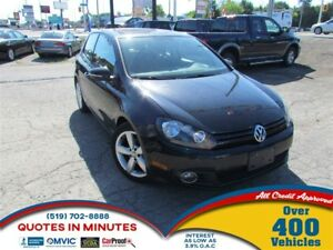 2012 Volkswagen Golf SPORTLINE | SUNROOF | ALLOYS | SAT RADIO