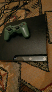 PS3 + controller + games