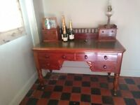 ANTIQUE MAHOGANY WILLIAM IV WRITING DESK ORIGINAL BEAUTIFUL PIECE