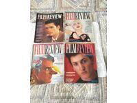 4 x Vintage Film Review Magazine from 1985