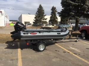 INFLATABLE BOAT TRAILERS