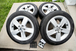 """16"""" VW Rims - 205 55/R16 - locking nuts and caps"""