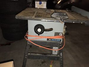 Table saw buy or sell tools in calgary kijiji classifieds page 3 10 table saw by beaver greentooth Choice Image