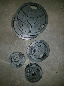 200lbs Olympic Plates