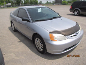2003 Honda Civic Certified & Etested!