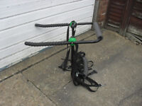 Rear mounted cycle carrier for 3 bikes