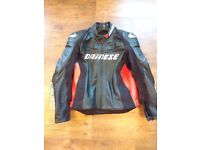 Dainese D1 Racing Leather Jacket