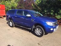 13 Ford Ranger Limited Double Cab Pick Up