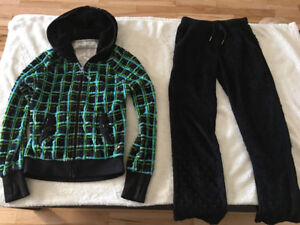 Girls TRIPLE FLIP minky jacket plus pants IVIVVA