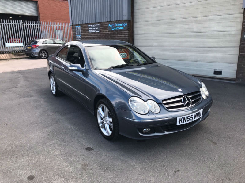 2005 55 mercedes clk 200 1 8 automatic kompressor advantgarde coupe 95000 miles in stoke on. Black Bedroom Furniture Sets. Home Design Ideas