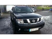 breaking 2007 nissan navara D40 double cab 4x4 parts spares 2.5 dci yd25