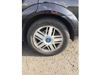 Ford alloys 5stud 16 Inch no tyres could be doing with a refurb