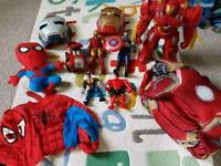 Selection of Marvel Toys and Costumes